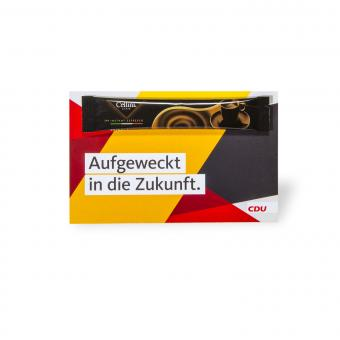 "Espressostick-Karte ""CDU"""