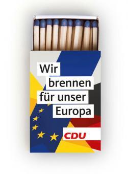 """Streichholzschachtel """"Europa"""""""