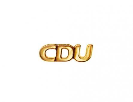 Erkennungszeichen - PIN CDU Gold (Stück)