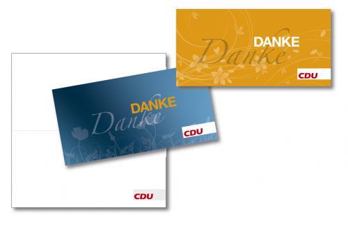 CDU DANKE Karten-Set