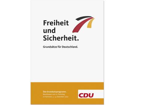 """Broschüre """"Grundsatzprogramm der CDU"""""""