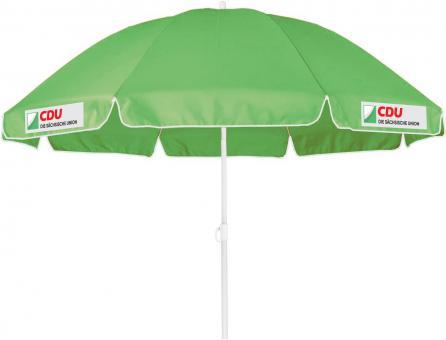 Sonnenschirm mit CDU Sachsenlogo
