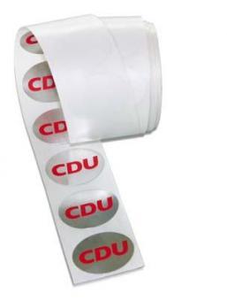 Siegelmarke CDU / 1 Rolle a 100 St.