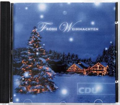 """Weihnachts-CD """"CDU"""""""