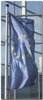 "Hissfahne Hochformat ""Europa"""