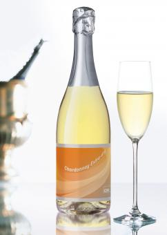 """Sekt Chardonnay """"CDU"""" ohne Präsentkarton 18 Flaschen"""