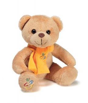 """Teddybär """"CDU-Smilie"""""""