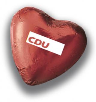 "Schokoladenherz ""CDU"""