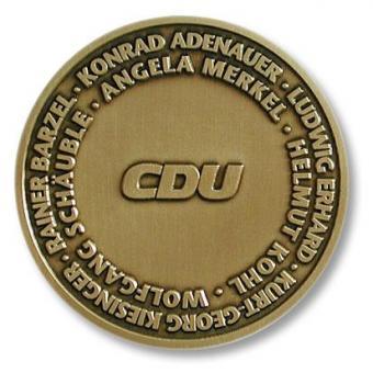 """Dankmedaille """"CDU"""""""