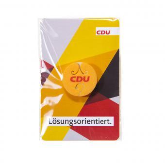 """Kopfhörer-Kabelhalter """"CDU"""" 10 Stück"""