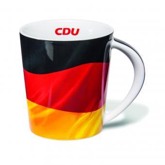 Deutschland-Becher CDU 1 Stück im Geschenkkarton