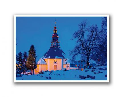 CDU Weihnachtskarte DIN A6 mit Text