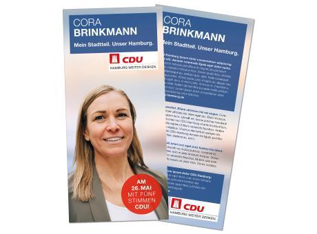 Kandidatenkarte im Hochformat