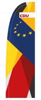 Bespannung Europa/CDU für Beachbanner Variabel