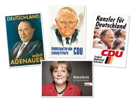 Postkartenset 75 Jahre CDU
