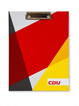 """Klemmbrett """"CDU-BTW 17"""""""
