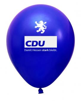 Luftballon CDU Hessen