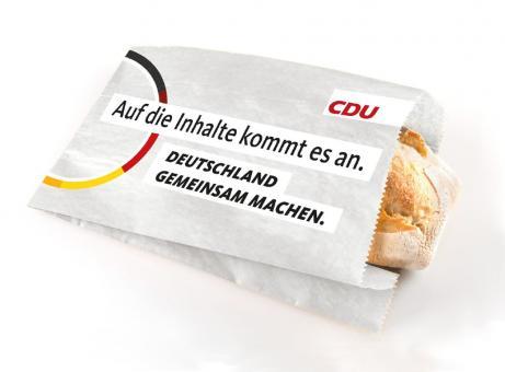 CDU-Brötchentüte