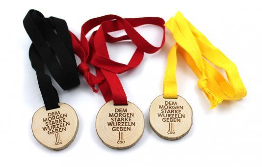 """Bio-Medaille """"Unser Wald"""" (3 Stück)"""