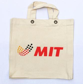 Stoffbeutel mit MIT Logo
