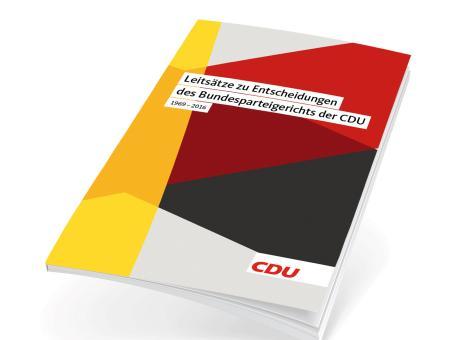 Broschüre Leitsätze zu den Entscheidungen des Bundesparteigerichts 1969 - 2016
