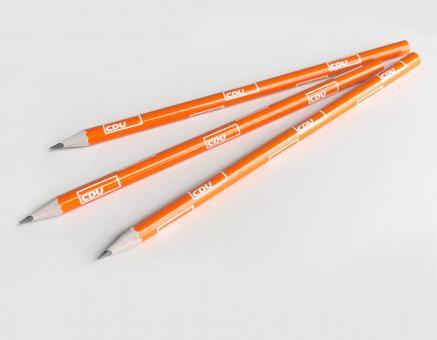 Bleistift CDU in Orange
