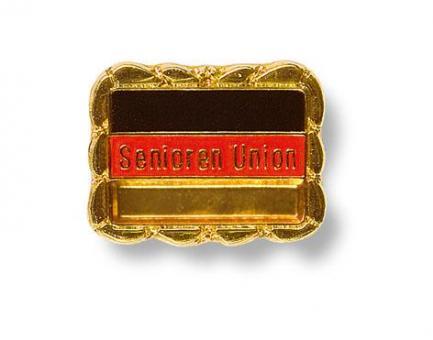 Pins Senioren-Union, goldener Rand