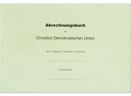 Abrechnungshandbuch für CDU-Verbände