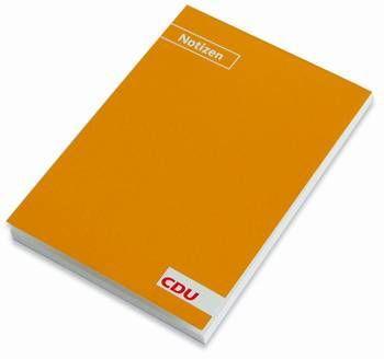 CDU - Notizblock