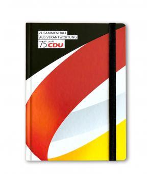 """Notizbuch """"75 Jahre CDU"""""""