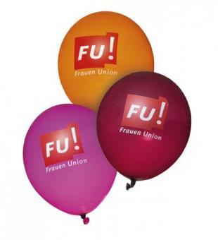 FU! Luftballon - 3-Farben-Mix