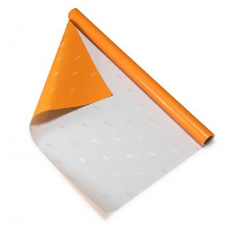 CDU Geschenkpapier Orange/Silbergrau (1 Rolle)