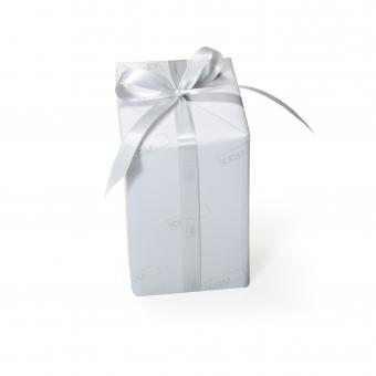 CDU Geschenkband Silbergrau (1 Rolle)