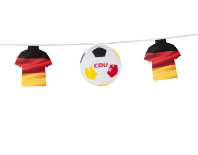 Fußball-Dekokette