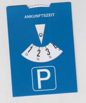 Parkscheibe NRW