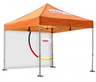 "Pavillon-Rückwand ""Unionkreis/CDU"""