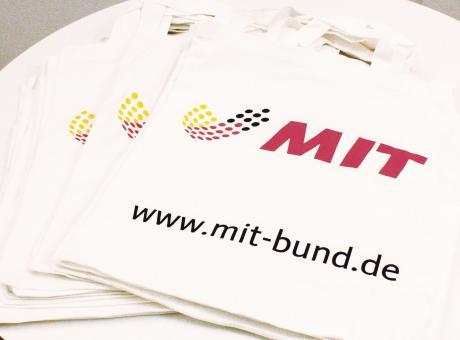 MIT Baumwolltasche