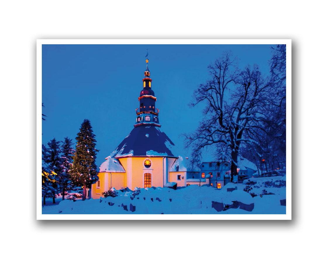 CDU Weihnachtskarte DIN A3 ohne Text